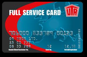 UTA Full Service karte