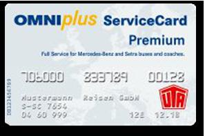 OMNIplusServiceCard karte